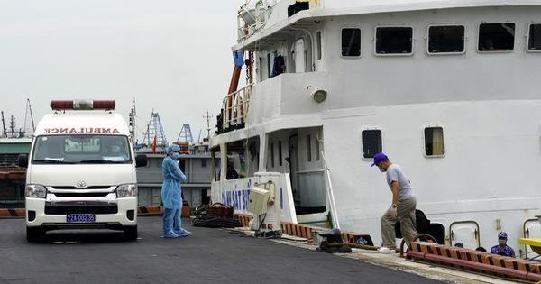 6 ca Covid-19 mới, một người phát hiện khi đang cách ly trên tàu neo đậu ở Vũng Tàu ảnh 1