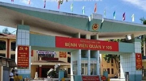 Hà Nội: Một trưởng khoa Bệnh viện Quân y 105 dương tính với SARS-CoV-2 ảnh 1