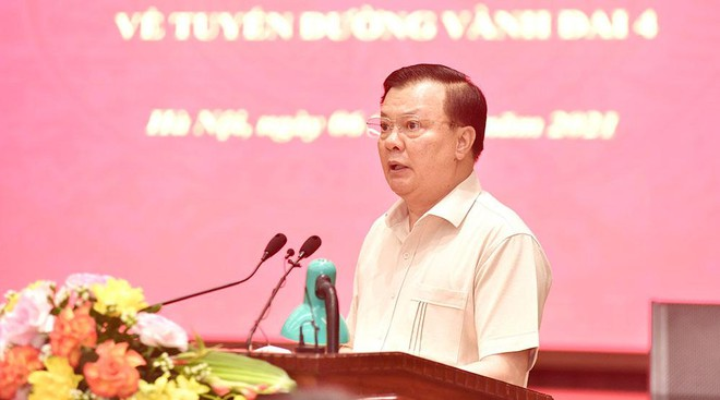 Hà Nội họp bàn với Bộ GTVT cùng 4 tỉnh về xây tuyến đường vành đai 4 dài gần 100 km ảnh 2
