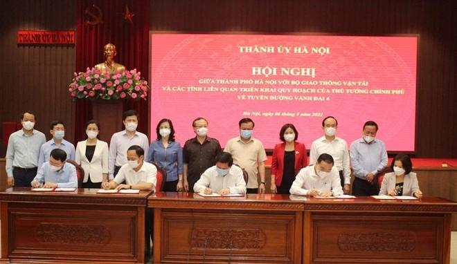 Bí thư Thành ủy Hà Nội: Dự án đường vành đai 4 sẽ làm trong 2 nhiệm kỳ, tổng vốn 135.000 tỷ đồng ảnh 1