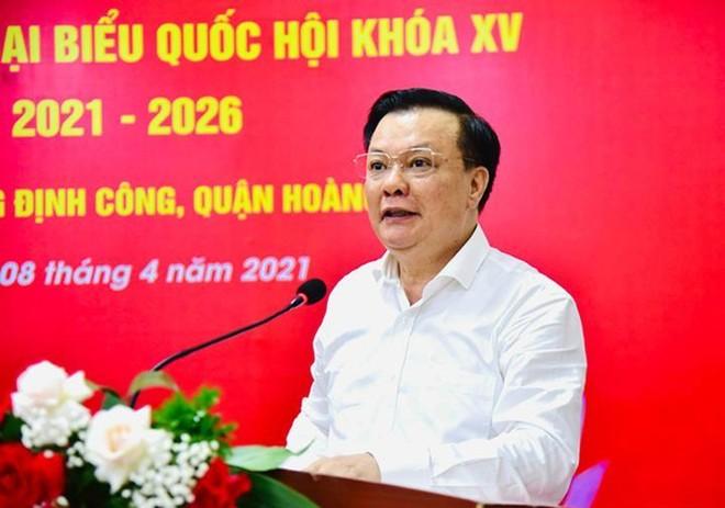 Bí thư Thành ủy Đinh Tiến Dũng khẳng định không có chuyện Hà Nội phong tỏa thành phố ảnh 1