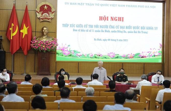 Tổng Bí thư Nguyễn Phú Trọng: Nếu trúng cử ĐBQH thì rất vinh dự, sẽ cố gắng hết sức mình ảnh 1
