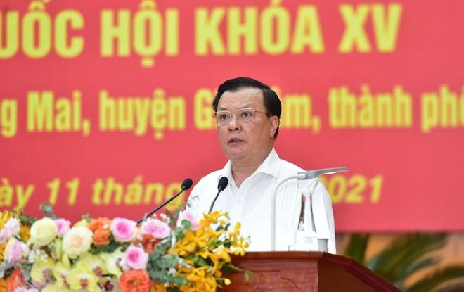Bí thư Thành ủy Hà Nội Đinh Tiến Dũng nêu 8 cam kết nếu trúng cử đại biểu Quốc hội khóa XV ảnh 2