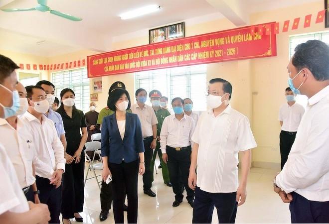 Bí thư Thành ủy Đinh Tiến Dũng: Hà Nội sẽ đẩy lùi dịch Covid-19 và tổ chức bầu cử thành công ảnh 1