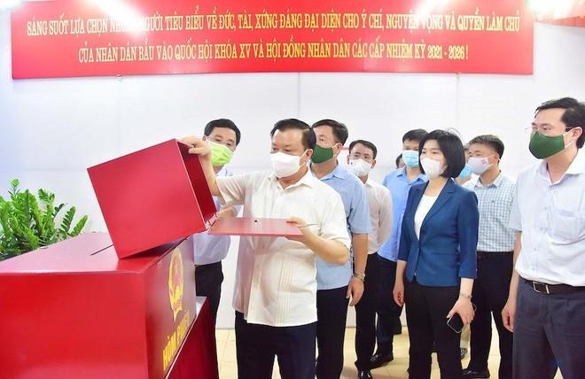 Bí thư Thành ủy Đinh Tiến Dũng: Hà Nội sẽ đẩy lùi dịch Covid-19 và tổ chức bầu cử thành công ảnh 2