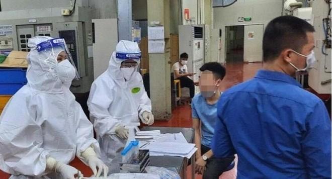 Lấy mẫu khẩn cấp gần 80.000 công nhân ở khu công nghiệp Vân Trung để xét nghiệm Covid-19 ảnh 3