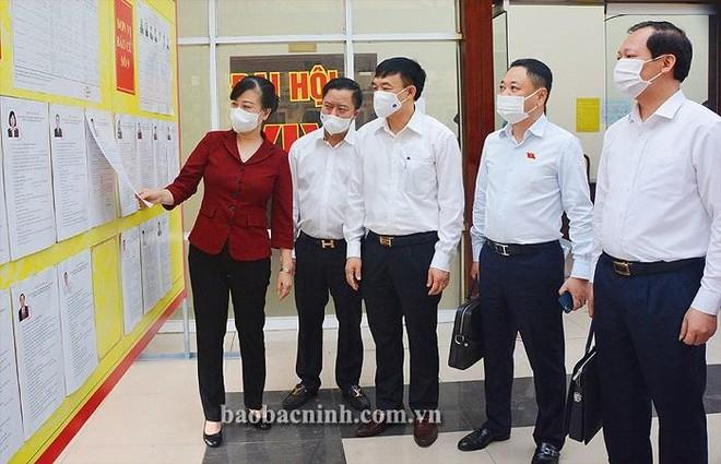 Cho phép tỉnh Bắc Ninh tiến hành bầu cử sớm 1 ngày tại thành phố và 3 huyện, thị xã ảnh 1
