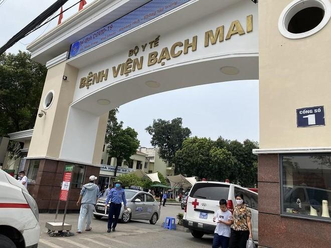 Thứ trưởng Bộ Y tế làm trưởng đoàn kiểm tra toàn diện Bệnh viện Bạch Mai ảnh 1
