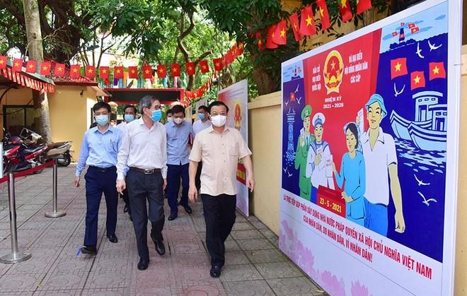 Bí thư Thành ủy Hà Nội: Không được để sự bất cẩn của vài người làm ảnh hưởng đến bầu cử ảnh 2