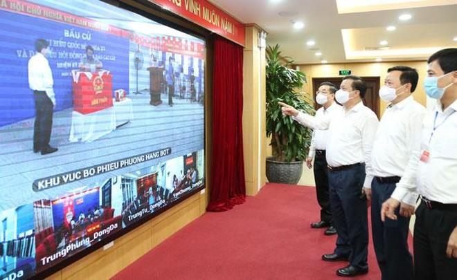 Bí thư Thành ủy Hà Nội: Tuyệt đối không được lơ là, để ngày bầu cử là ngày vui trọn vẹn ảnh 1