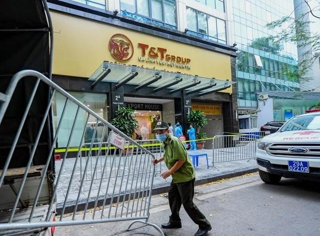 Thêm 8 ca dương tính liên quan đến chùm ca bệnh tại Times City và Công ty T&T ảnh 1