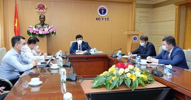 Nga đồng ý cung cấp cho Việt Nam 20 triệu liều vaccine Covid-19 trong năm 2021 ảnh 1