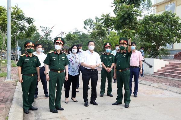 Bí thư Thành ủy Đinh Tiến Dũng: Hà Nội sẽ siết lại toàn bộ khu cách ly tập trung ảnh 1