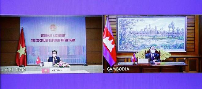 Việt Nam – Campuchia cam kết ủng hộ lẫn nhau tại các diễn đàn liên nghị viện khu vực ảnh 1