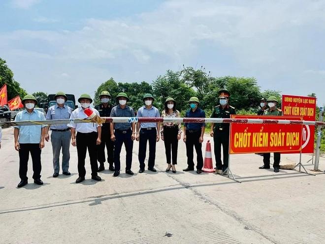 Hai huyện Lục Nam, Yên Thế của Bắc Giang được nới lỏng cách ly xã hội ảnh 2