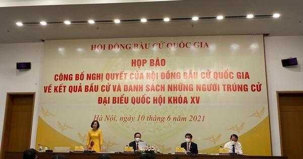 Danh sách 29 người trúng cử đại biểu Quốc hội khóa XV tại Hà Nội ảnh 1