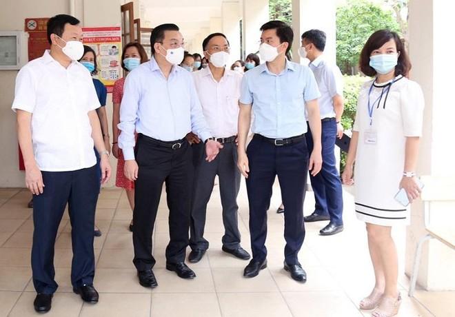 Bí thư Thành ủy Hà Nội: Bằng mọi biện pháp đảm bảo an toàn kỳ thi vào lớp 10 ảnh 2