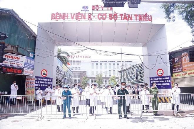Bệnh viện K Tân Triều chính thức được dỡ phong tỏa sau 5 tuần cách ly y tế ảnh 1