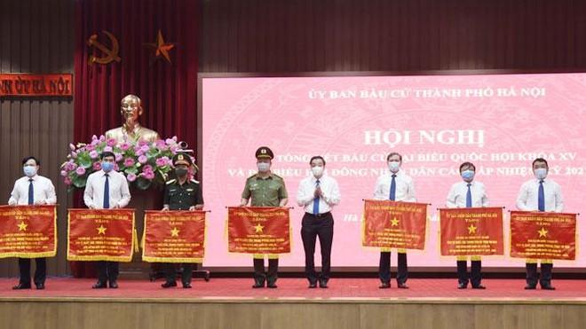 Kỳ bầu cử tại Hà Nội an toàn tuyệt đối, không có vụ việc phức tạp xảy ra ảnh 2