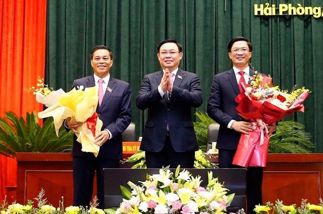 Hải Phòng có tân Chủ tịch HĐND TP, ông Nguyễn Văn Tùng tái đắc cử Chủ tịch UBND TP ảnh 1