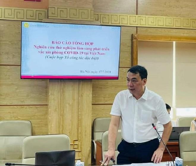 Thứ trưởng Bộ Y tế: Việt Nam sẽ tự sản xuất được một loại vaccine Covid-19 trong năm nay ảnh 1