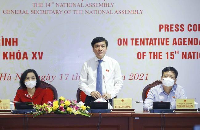Ngày mai, 20-7: Bầu Chủ tịch Quốc hội, các Phó Chủ tịch Quốc hội khóa XV ảnh 1