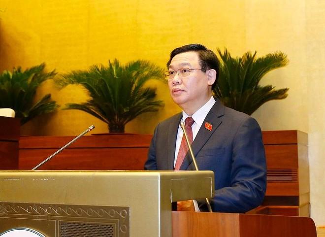 Giới thiệu ông Vương Đình Huệ để bầu Chủ tịch Quốc hội khóa XV ảnh 1