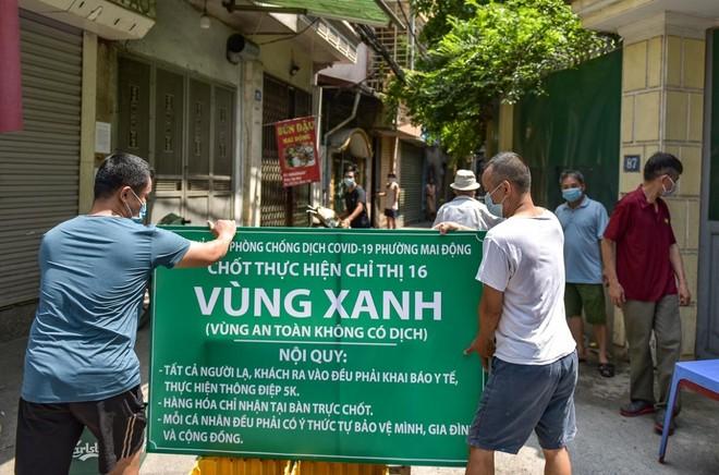 Chi tiết các quận, huyện của Hà Nội không có ca Covid-19 cộng đồng từ 6-9 đến nay ảnh 1