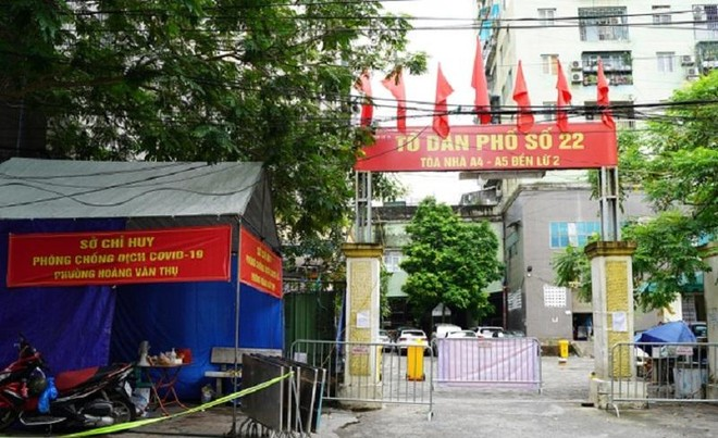 Hà Nội thêm 3 ca Covid-19 ở ổ dịch phường Việt Hưng và chung cư A5 Đền Lừ ảnh 1