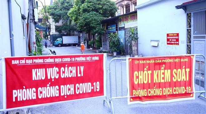 Ổ dịch Covid-19 phường Việt Hưng thêm 5 người dương tính, huyện Phú Xuyên cũng có 3 ca ảnh 1