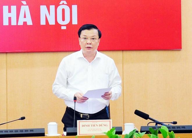 Bí thư Thành ủy Hà Nội Đinh Tiến Dũng là Trưởng Ban Chỉ đạo sửa đổi Luật Thủ đô ảnh 1