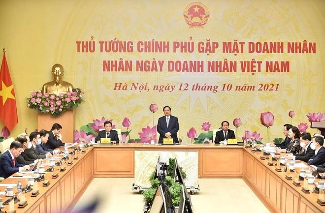 Thủ tướng mong đội ngũ doanh nhân có bản sắc, có lòng yêu nước và văn hoá kinh doanh ảnh 2