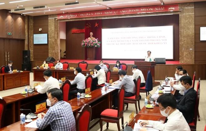 Bí thư Thành ủy Hà Nội: Mở lại các hoạt động nhưng không nóng vội, làm từng bước thận trọng ảnh 1