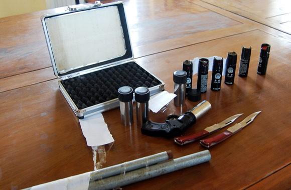"""Súng tự tạo và công cụ hỗ trợ nhiều """"như rau""""! ảnh 1"""