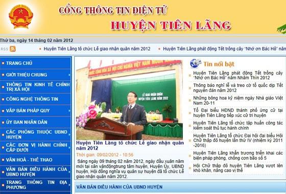 Huyện Tiên Lãng gỡ bỏ thông tin trái quyết định của Thủ tướng ảnh 2