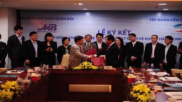 Giải pháp phần mềm CRM đầu tiên của Việt Nam được triển khai cho ngân hàng