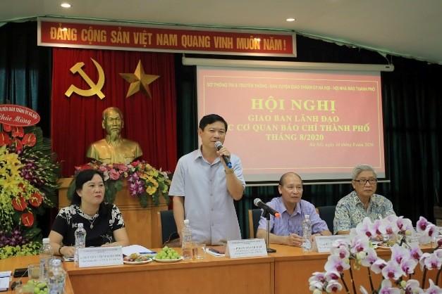 Báo chí Hà Nội làm tốt nhiệm vụ tuyên truyền các sự kiện lớn ảnh 1