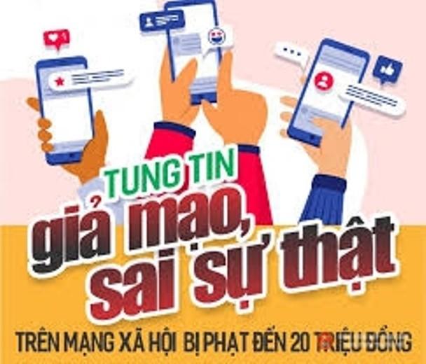 Hà Nội: Tiếp tục xử phạt cá nhân chia sẻ tin giả trên mạng xã hội ảnh 1