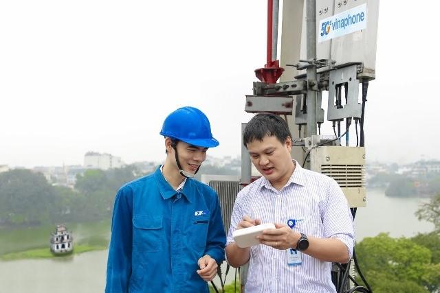 Tháng 12-2020: Sóng VinaPhone 5G thương mại sẽ có tại Hà Nội, TP.HCM ảnh 1