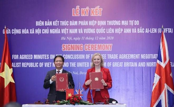 Ngày mai, 31-12: Hiệp định UKVFTA chính thức có hiệu lực ảnh 1