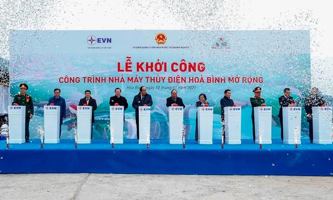 Nhà máy Thủy điện Hòa Bình mở rộng: Bổ sung nguồn điện lớn vào hệ thống điện quốc gia ảnh 1