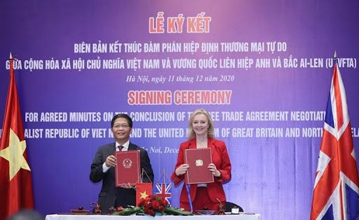 Hiệp định UKVFTA sẽ có hiệu lực từ 1-5-2021 ảnh 1