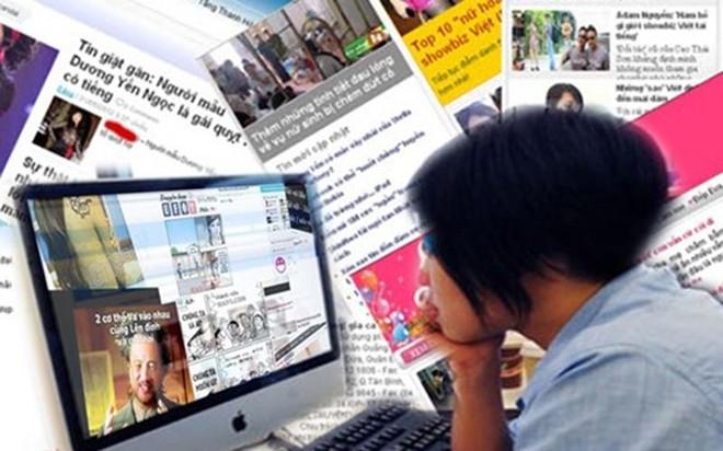 Hà Nội: Xử lý nghiêm trang tin điện tử tổng hợp, mạng xã hội hoạt động sai phép ảnh 1