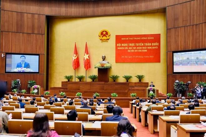 Hà Nội tổ chức hội nghị trực tuyến học tập, quán triệt 10 chương trình công tác của Thành ủy khóa XVII ảnh 1