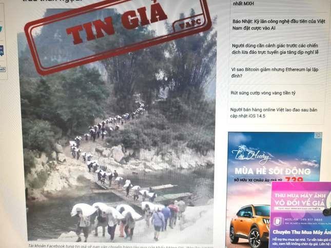 Tung tin giả về vận chuyển hàng lậu qua cửa khẩu Móng Cái, Quảng Ninh ảnh 1