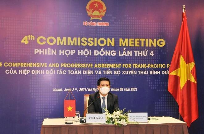 Hội đồng Hiệp định đối tác toàn diện và tiến bộ xuyên Thái Bình Dương họp về việc Vương quốc Anh gia nhập CPTPP ảnh 1