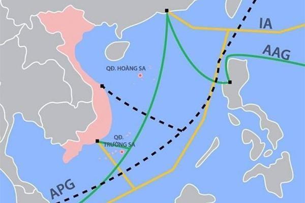 Cáp quang biển AAE-1 đang gặp sự cố, Internet đi quốc tế chập chờn ảnh 1