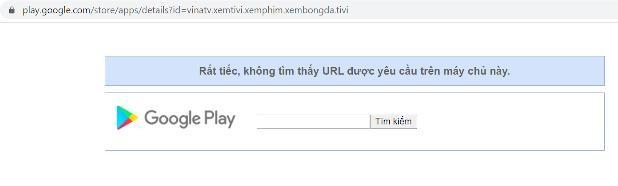 Bộ TT-TT yêu cầu Google gỡ bỏ ứng dụng Vina TV ảnh 1