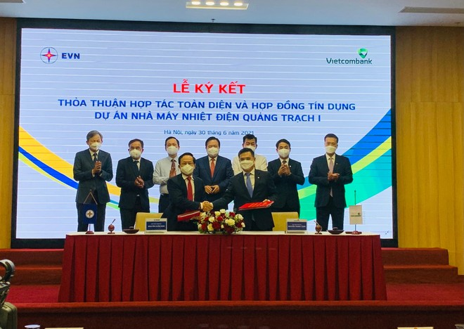 EVN và Vietcombank hợp tác đầu tư dự án nhà máy nhiệt điện Quảng Trạch I ảnh 1