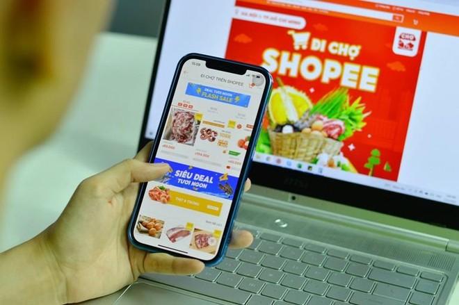 """Hà Nội: Lo ngại dịch bệnh, người dân có thể """"đi chợ online"""" ảnh 1"""
